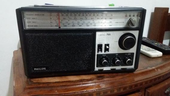 Radio Philips 4 Wave Selector Revisado