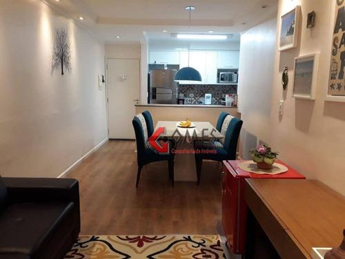 Apartamento Com 3 Dormitórios À Venda, 72 M² Por R$ 426.000 - Taboão - São Bernardo Do Campo/sp - Ap2874