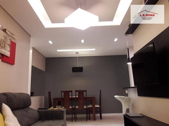 Apartamento Com 2 Dormitórios À Venda, 67 M² Por R$ 540.000,00 - Centro - Osasco/sp - Ap1883