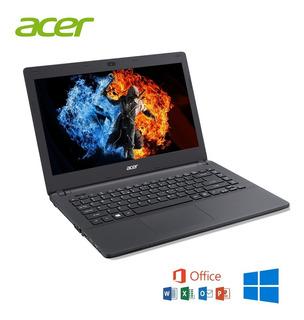 Barata Laptop Acer Aspire Intel Celeron 500hdd-4ram Hdmi