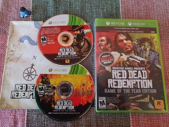 Xbox One Red Dead Redemption Original Midia Física