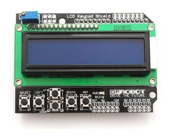 Display Lcd Shield Com Teclado Para Arduino ( Cod.85 )