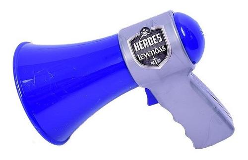Imagen 1 de 7 de Megafono De Accion Real Juego De Policia El Duende Azul