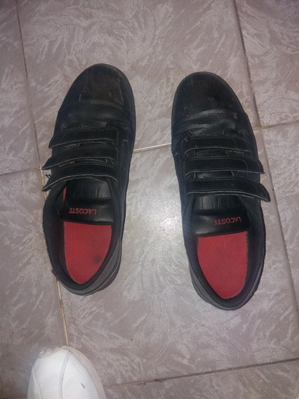 Zapatillas Lacoste Hombre Abrojos