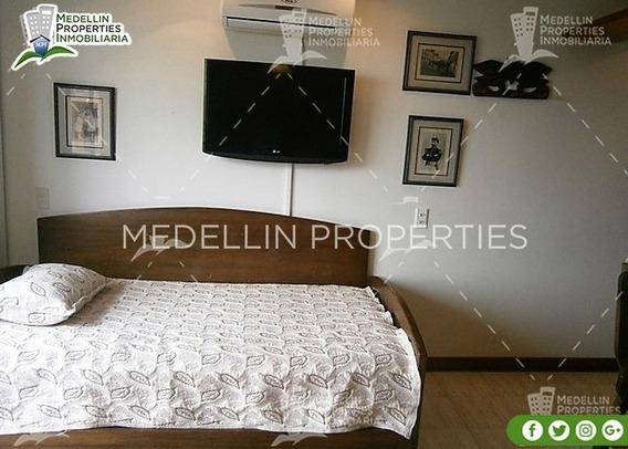 Apartamentos Amoblados Economicos En Medellin Cód: 4479