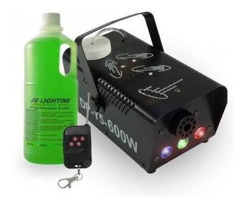 Máquina De Fumaça 600w Bivolt,brind Fluído De 2 Litros