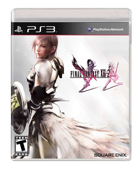 Jogo Midia Fisica Final Fantasy 13 Xiii-2 Original Para Ps3