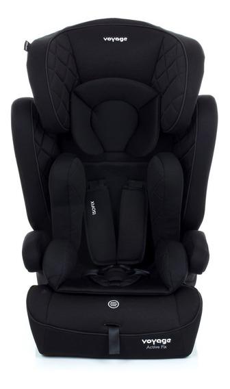 Cadeira Auto Bebê Active Iso Fix 9-36kg Preta Voyage Hb11