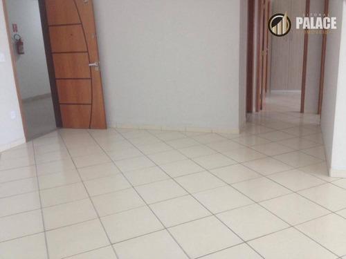 Apartamento Residencial À Venda, Vila Guilhermina, Praia Grande - . - Ap1191