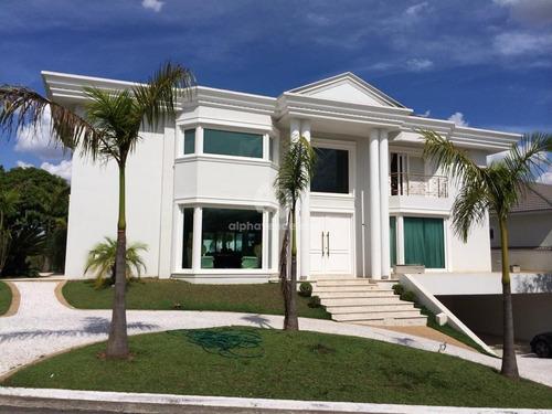 Imagem 1 de 30 de 18 Do Forte - Alphaville -casa Com 4 Dormitórios À Venda, 685 M² Por R$ 5.480.000 - Alphaville - Santana De Parnaíba/sp - Ca0566