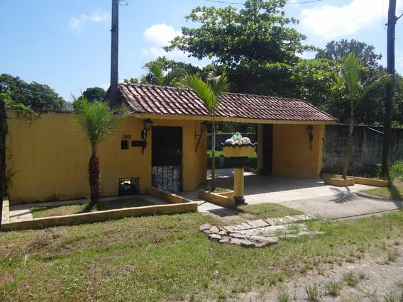 Sitio No Litoral, Mongaguá Com 4 Dormitórios Ref : 6875 C