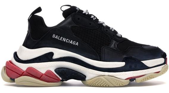 Tenis Balenciaga Black Caballero
