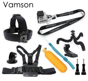 Acessórios Gopro Original Vamson 10 Itens Kit Go Pro