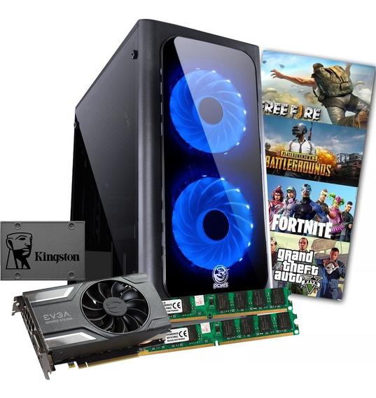 Pc Gamer Core I5 3470 + 8gb Ram + Gtx 1060 6gb + Ssd 240gb