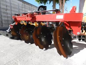 Arado Agricola De 4 Discos Hidraulico Marca Famaq Nuevo