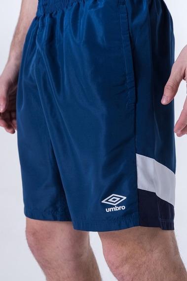 Short Training Umbro Negro Y Azul Hombre!! @