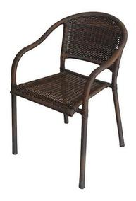 Cadeira Biquíni Empilhável Varanda Piscina Fibra Sintética