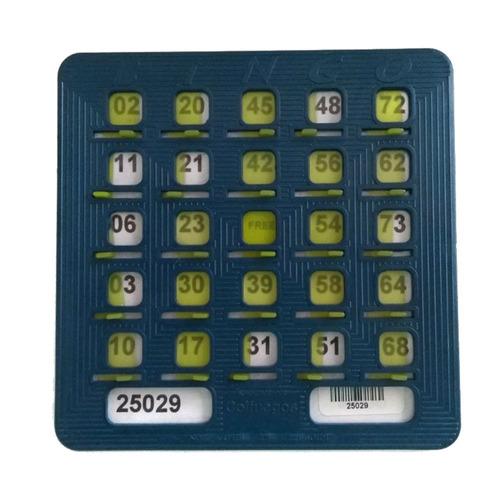 Tablas 50 Cartones Plásticos Para Bingo  Tablas De Bingo