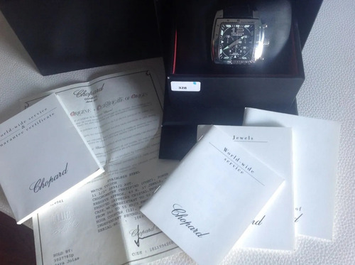 Chopard Tycoon Cronógrafo Original Completo Cx/certificado