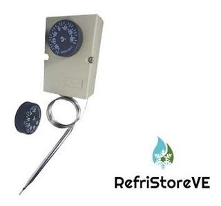 Termostato Refrigeracion De Bulbo -30 A +30 °c Tipo Ut72