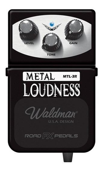 Pedal De Guitarra Waldman Metal Loudness Mtl-3r