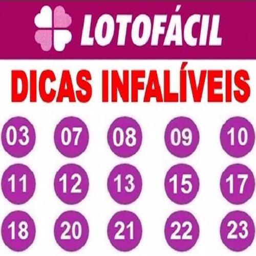 segredo dos numeros da lotofacil
