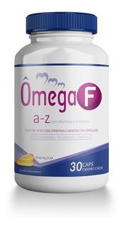 Omega Full 30 Caps 1000mg Vitaminas Minerais Ômega 3 Promel