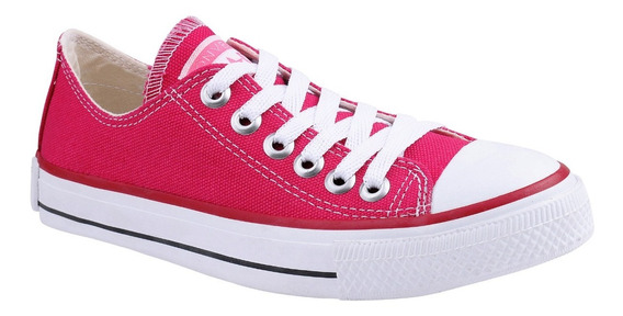 Tênis Converse All Star Chuck Taylor Cano Baixo Rosa Pink