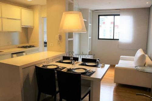 Apartamento Com 2 Dormitórios À Venda, 61 M² Por R$ 452.000,00 - Centro - Curitiba/pr - Ap2600