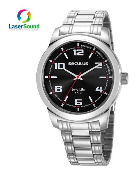 Relógio Seculus Masculino 23642g0svna1 C/ Garantia E Nf