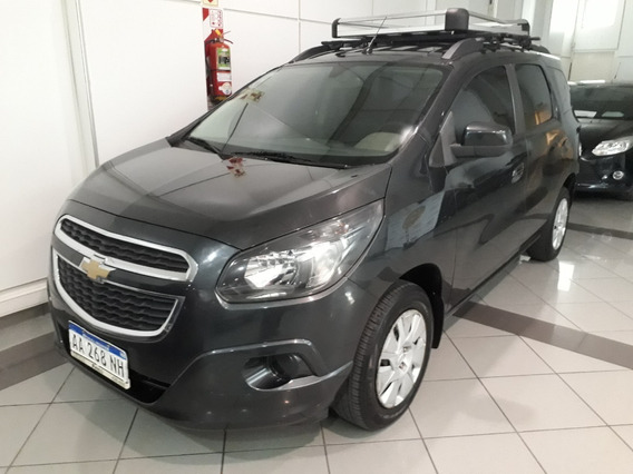 Chevrolet Spin 1.8 Lt 5as 2016, Full, Concesionario Oficial