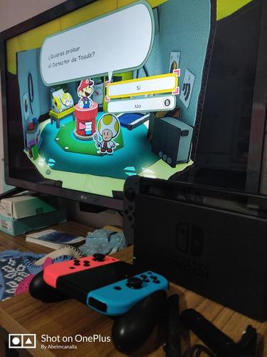 Nintendo Switch Homebrew  + 4 Joycon Originales+ Sd 64gb