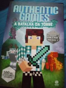 Livro Authentic Games - A Batalha Da Torre