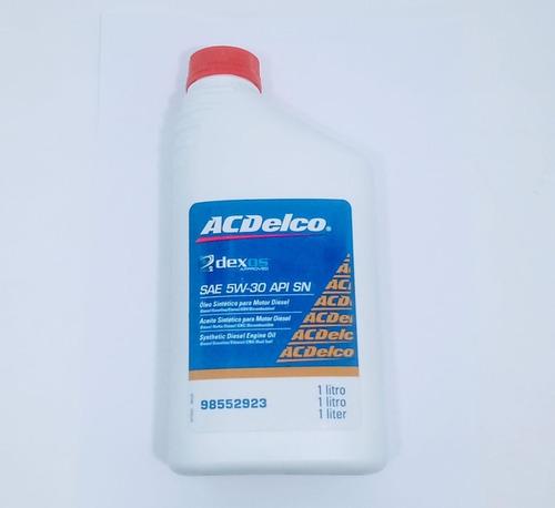 Imagem 1 de 3 de Oleo Motor 5w30 Sintetico Turbo Diesel Dexos2  Acdelco