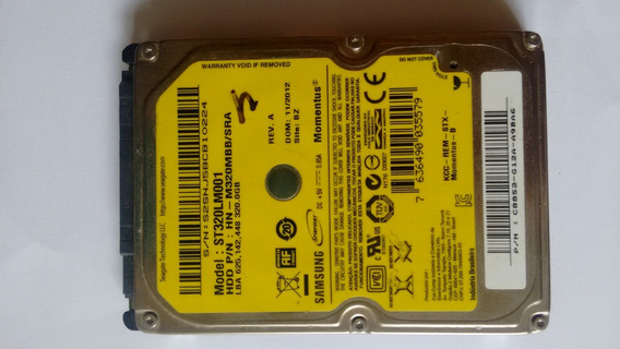 Hd Notebook 320gb Samsung
