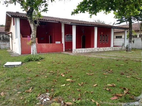 Imagem 1 de 14 de Casa Na Praia 3 Dorm 1 Suíte Com Área De 500m² Total  7368
