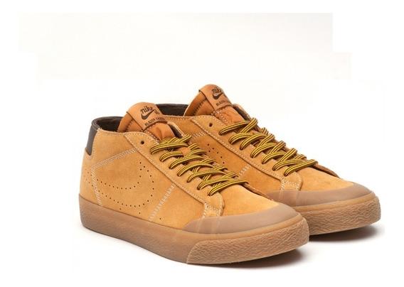 Zapatillas Nike Sb Zoom Blazer Chukka Hombre Marron Nike Sb