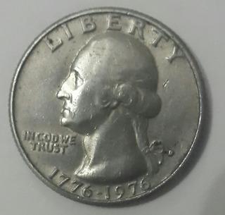 Moneda Coleccion Commemorativa Bicentenario U.s.a 1776-1976