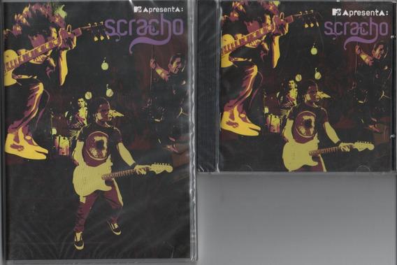 01 Cd+01 Dvd Banda Scracho Mtv Apresenta Ao Vivo 2009 Lacrdo