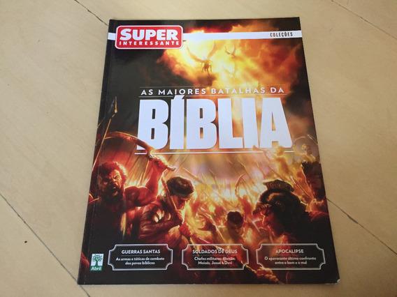 Revista Super Interessante 309 Batalhas Da Bíblia Santo G440