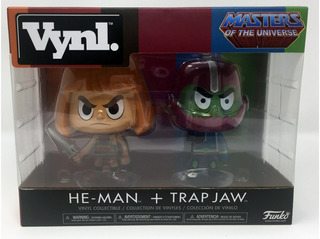 Figuras Funco Vinyl Masters Of The Universe He-man Trap Jaw