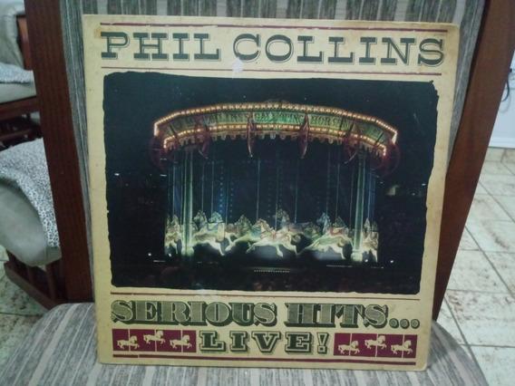 Lp/vinil- Phil Collins - Serious Hits ... Live! -disco Duplo