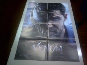 Poster Duplo Do Filme Venom Com Tom Hardy