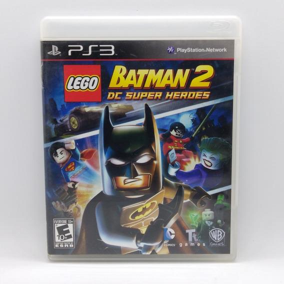 Lego Batman 2 Dc Super Heroes Ps3 Midia Fisica Portugues