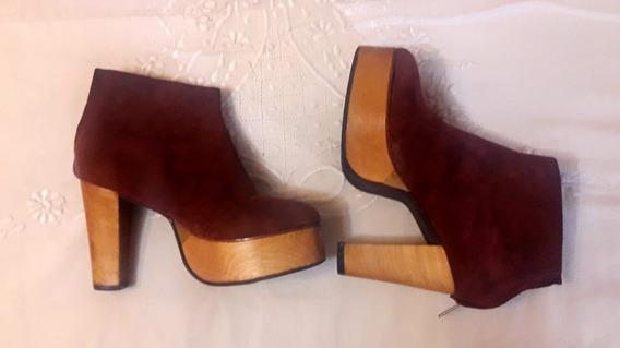 Zapatos Mish Ka Bordo