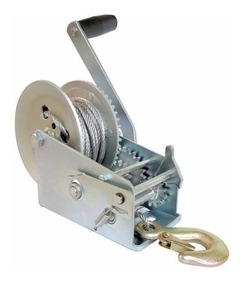 Malacate Winch Galvanizado 1200 Lbs Cable 10 M 0,54 T Titan