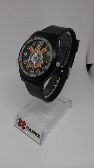 Relógio De Pulso Do Corinthians Unissex
