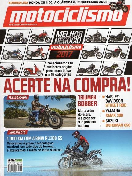 Motociclismo.236 Ago17- Bobber Harley750 Burgman Bmw1200