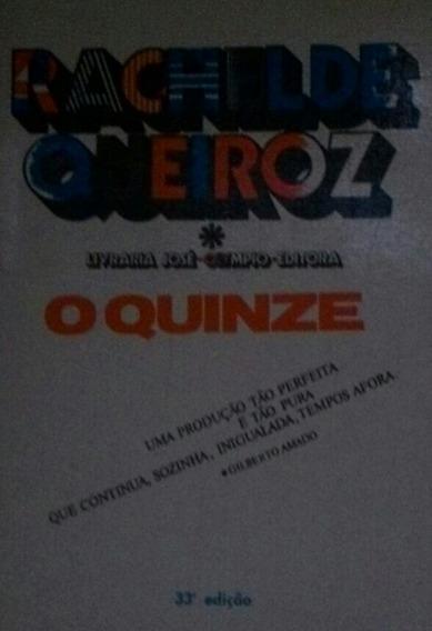Livro O Quinze - Romance Brasileiro
