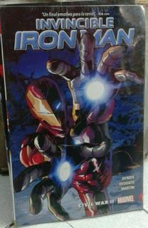 Cómic Invincible Iron Man Vol. 3 Civil War Ii